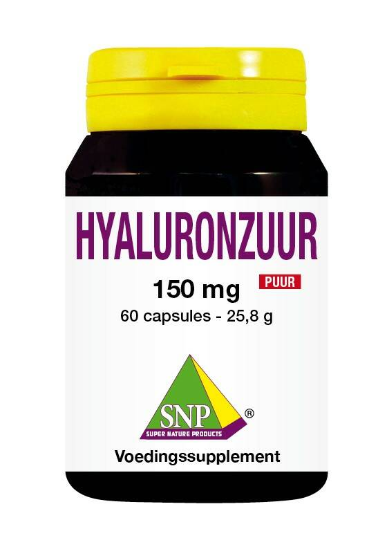 Hyaluronzuur 150 mg puur 60caps SNP