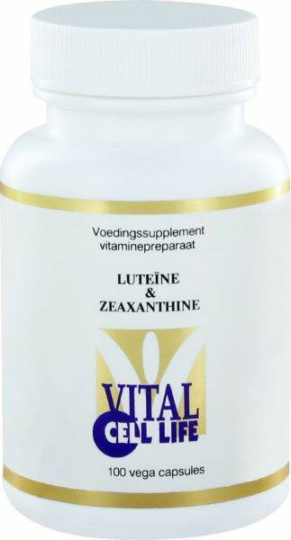 Luteïne & Zeaxanthine 100vcaps Vital Cell life