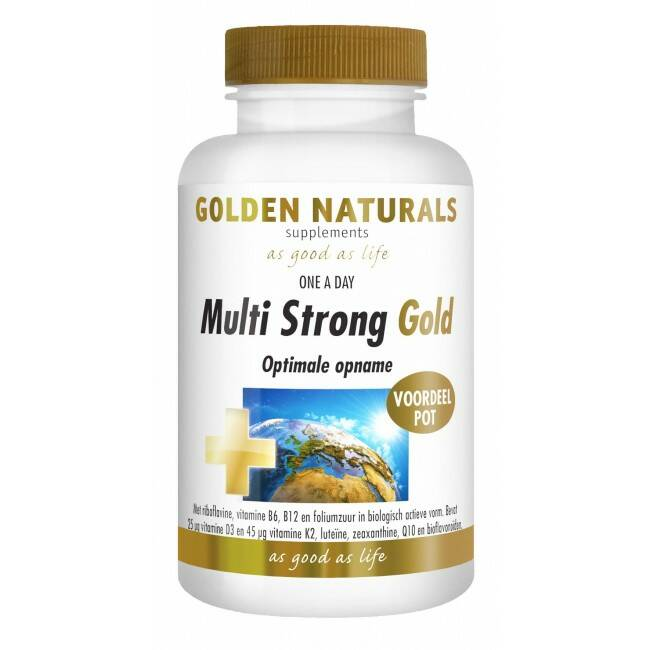 Multi Strong Gold 60caps Golden Naturals