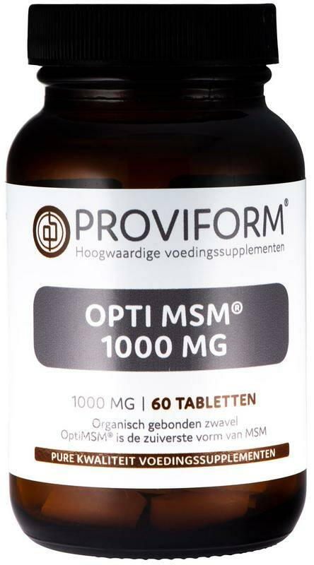 OPTI MSM 1000mg 60 of 240tab tab Proviform