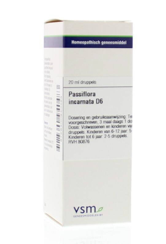 Passiflora Incarnata D6 dr 20ml VSM