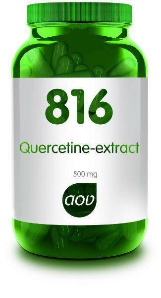 Quercetine-extract 500mg 60vcaps 816 AOV