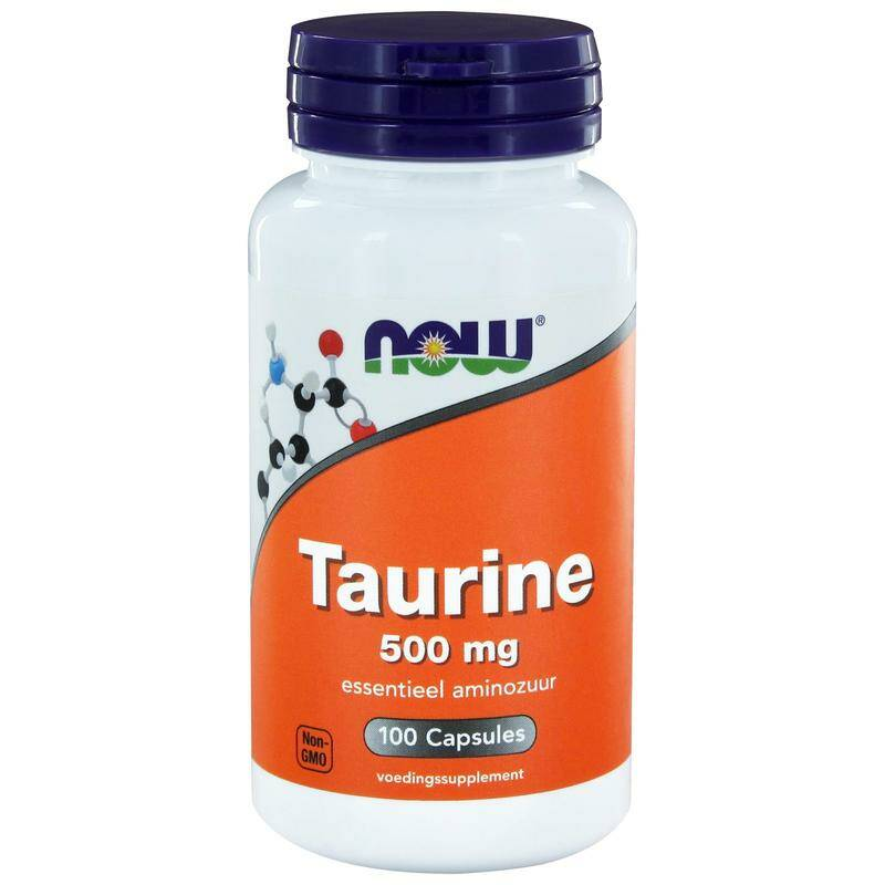 Taurine 500mg 100caps NOW