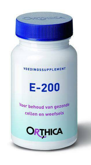 Vitamine E 200IE 90softgels Orthica
