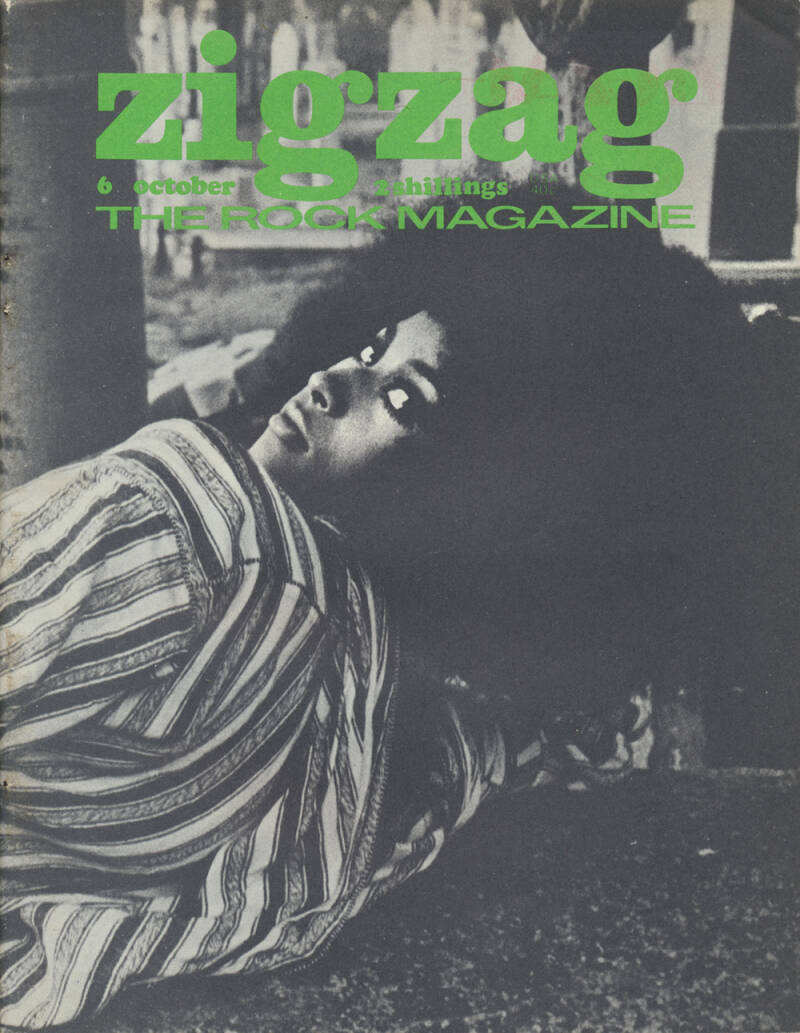 Zigzag issue 06 - October 1969 [UK] - Magazine