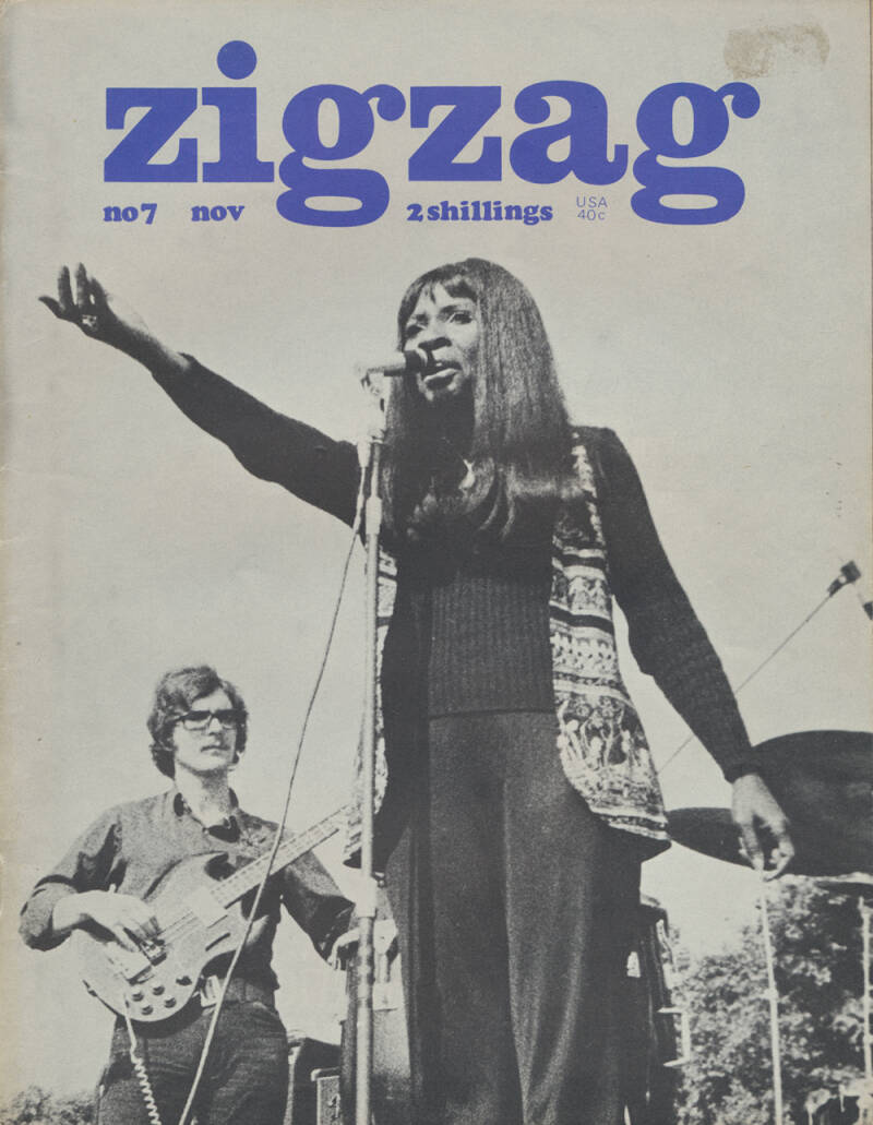 Zigzag issue 07 - November 1969 [UK] - Magazine