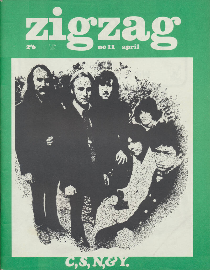 Zigzag issue 11 - April 1970 [UK] - Magazine