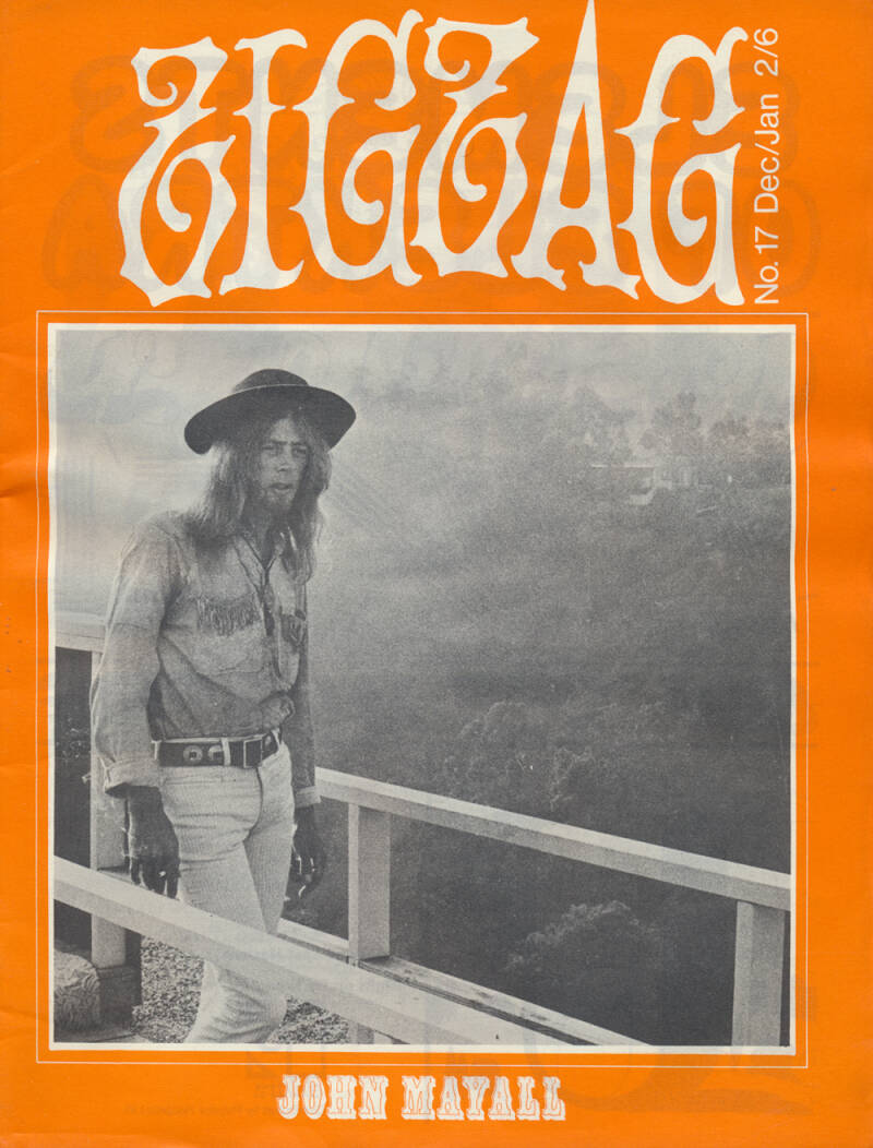 Zigzag issue 17 - December 1970 [UK] - Magazine