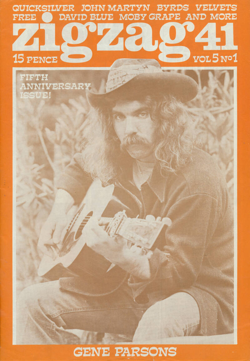 Zigzag issue 41 - May 1974 [UK] - Magazine