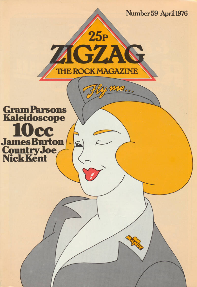 Zigzag issue 59 - April 1976 [UK] - Magazine