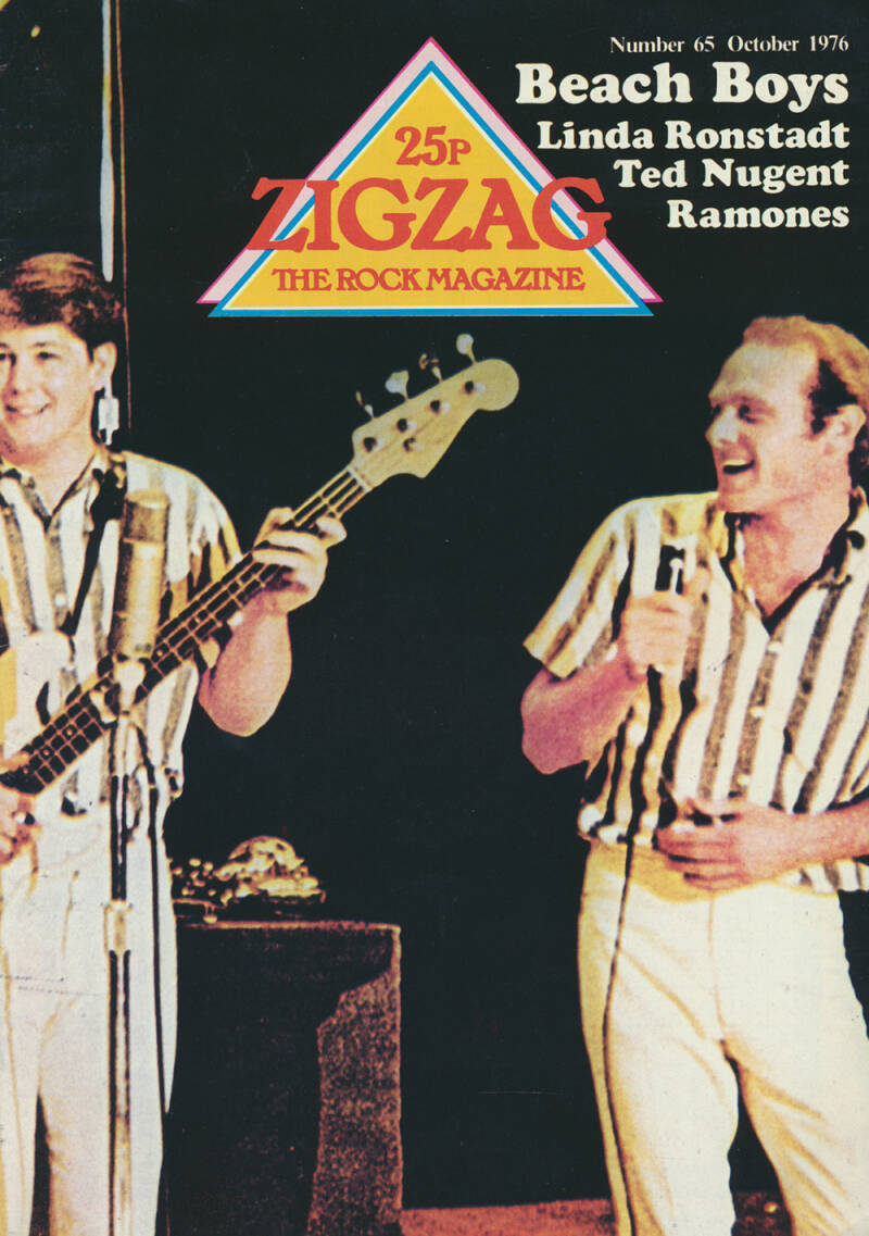 Zigzag issue 65 - October 1976 [UK] - Magazine