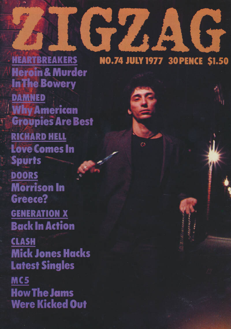 Zigzag issue 74 - July 1977 [UK] - Magazine
