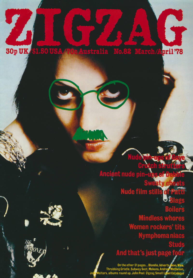 Zigzag issue 82 - March 1978 [UK] - Magazine