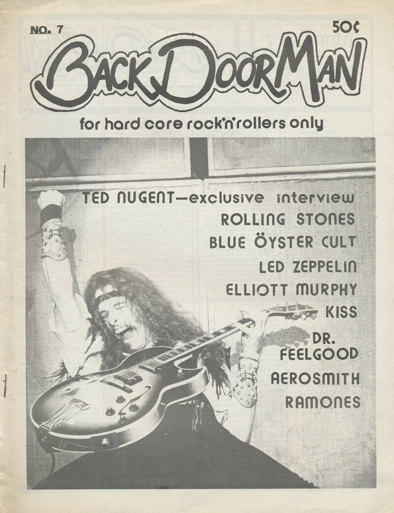 Back Door Man issue 7