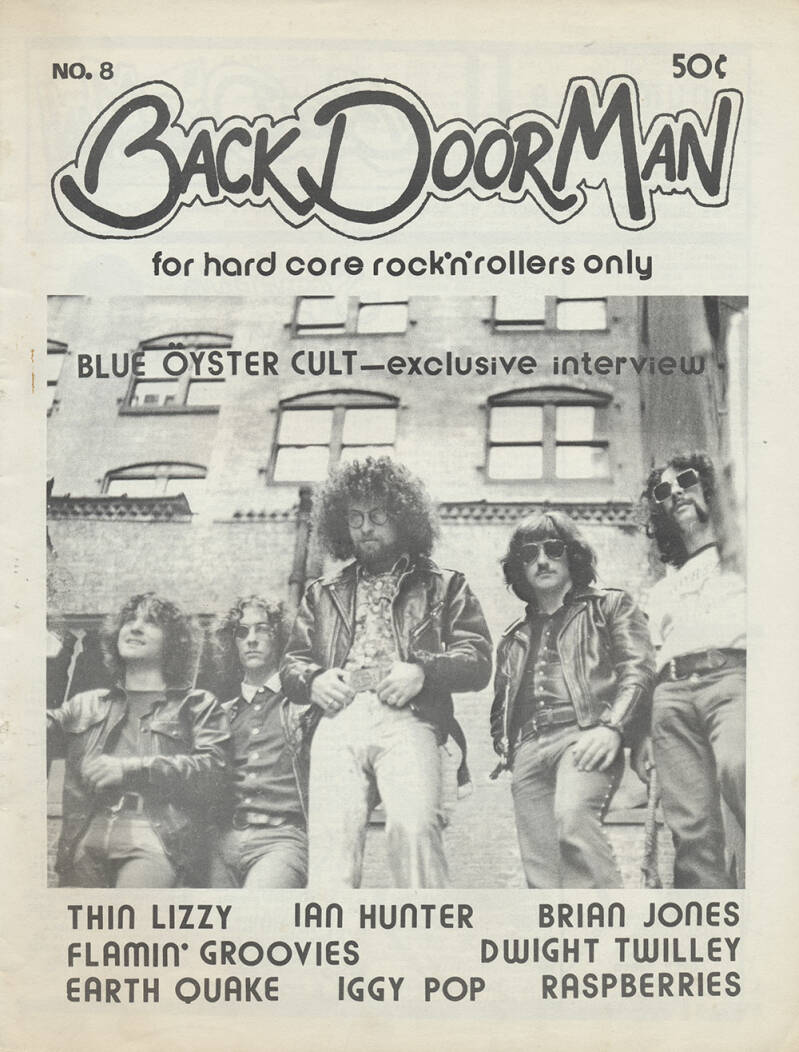Back Door Man issue 08 - September 1976 [USA] - Magazine