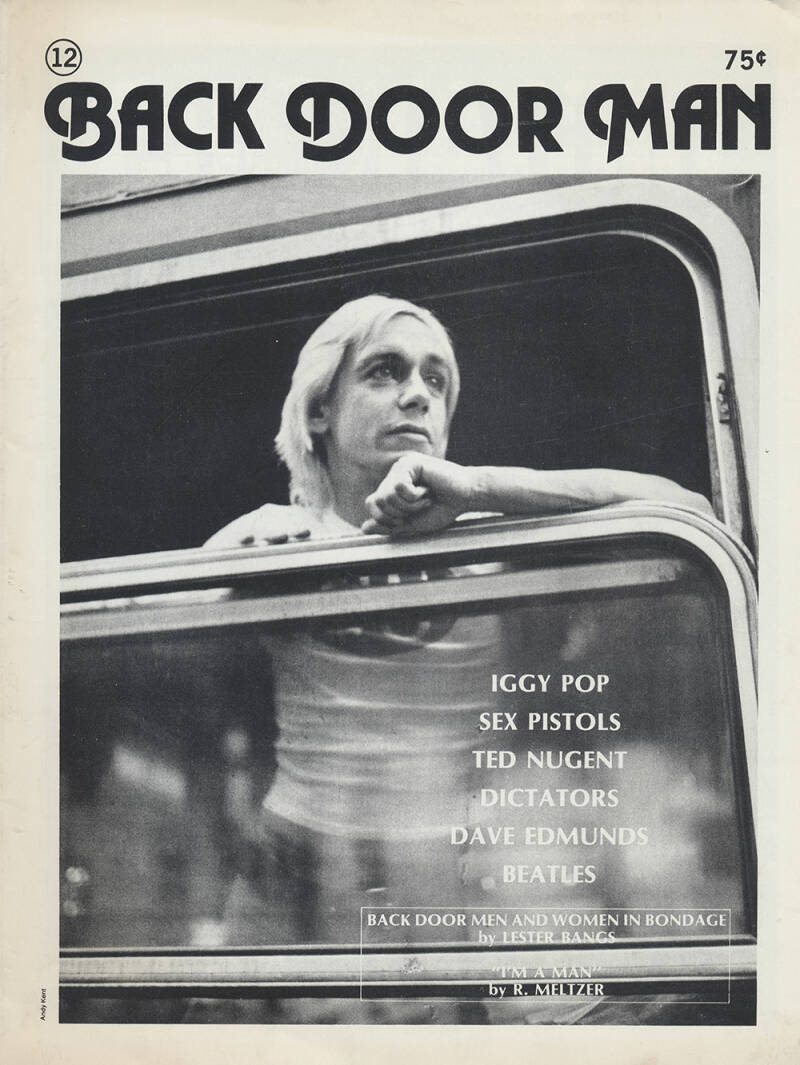 Back Door Man issue 12 - July 1977 [USA] - Magazine