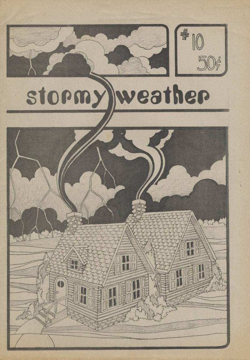 Stormy Weather issue 10 - 1976 [USA] - Magazine