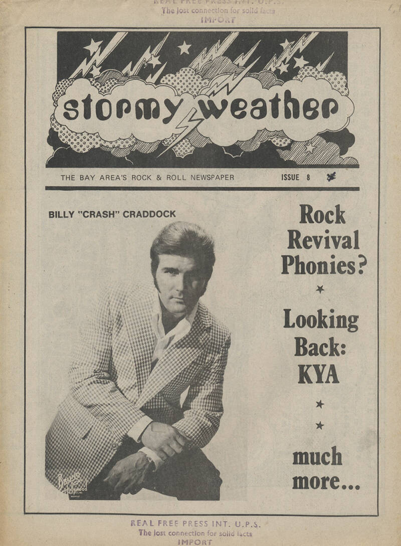 Stormy Weather issue 8 - 1974 [USA] - Magazine