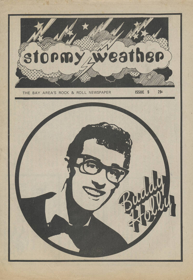Stormy Weather issue 5 - 1973 [USA] - Magazine