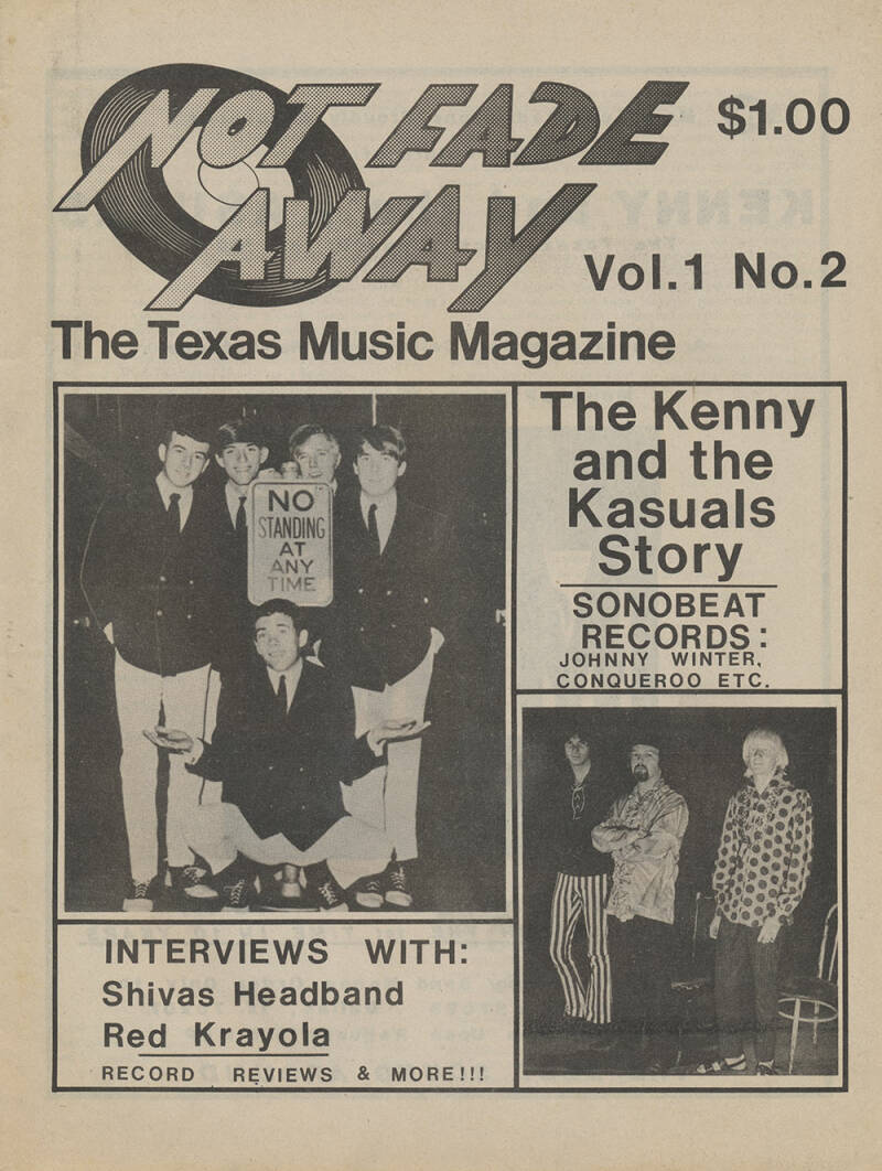 Not Fade Away issue 2 - 1977 [USA] - Magazine