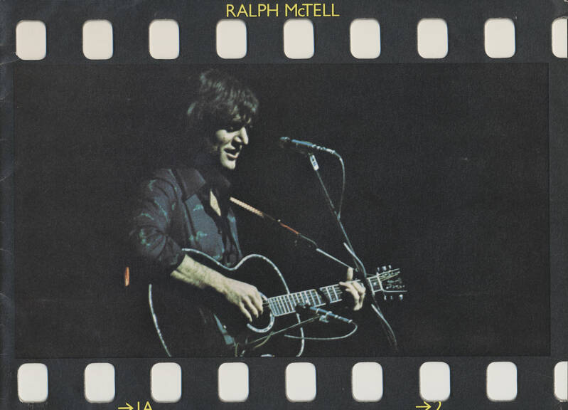 Ralph McTell - 1976 [UK] - Press Kit