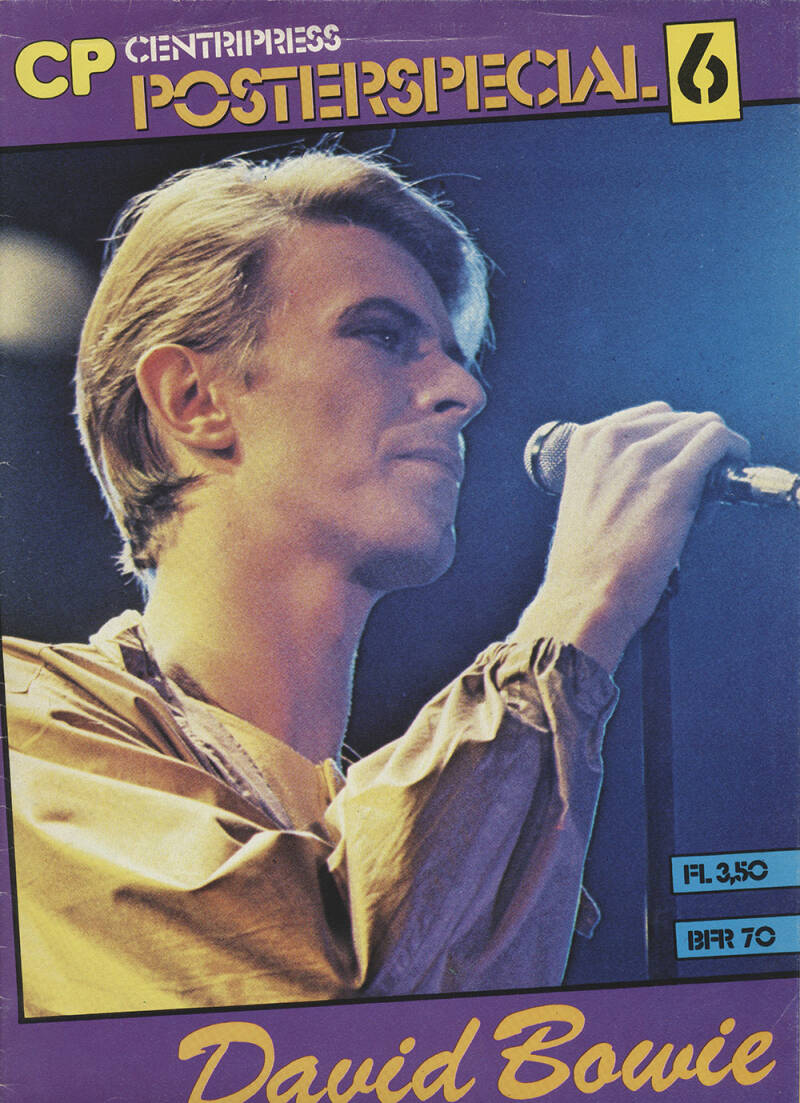 David Bowie Poster Special - 1983 [Holland] - Magazine
