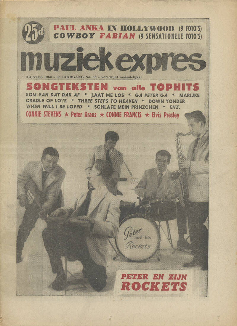 Muziek Expres - August 1960 [Holland] - Magazine