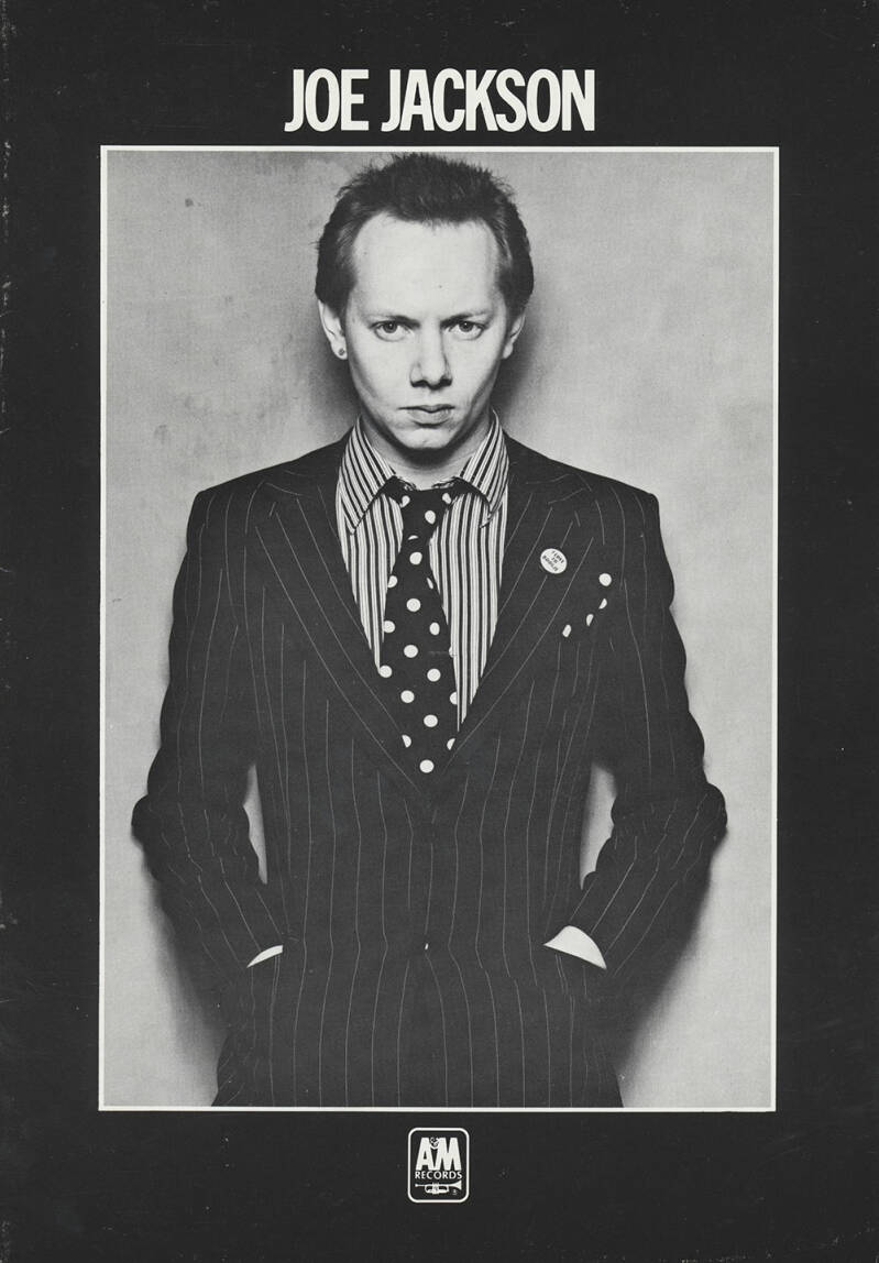 Joe Jackson - 1979 [UK] - Press Kit