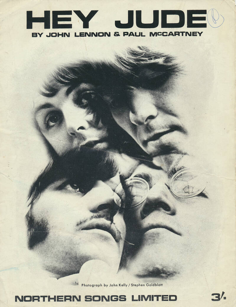 The Beatles sheet music