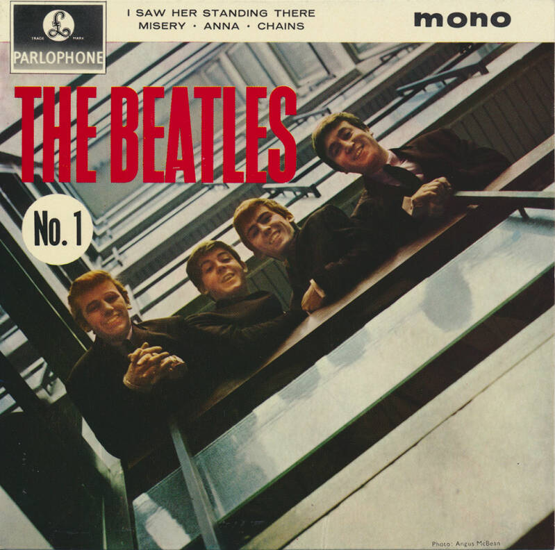 The Beatles No. 1 EP sleeve