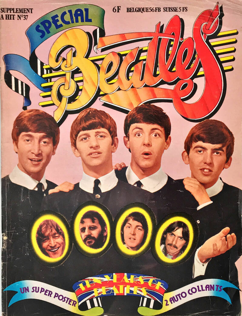 The Beatles - Hit issue 37: Special The Beatles - 1975 [France] - Magazine