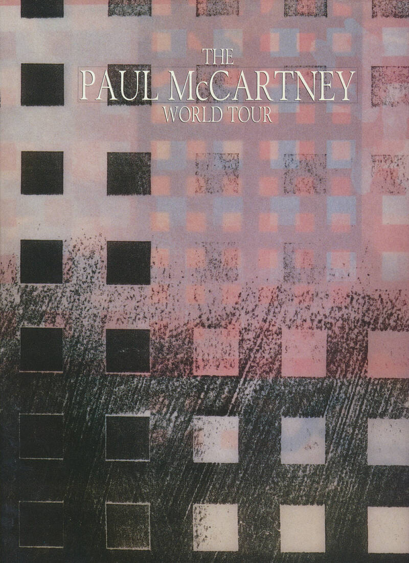 Paul McCartney - 1989 [UK] - Programme
