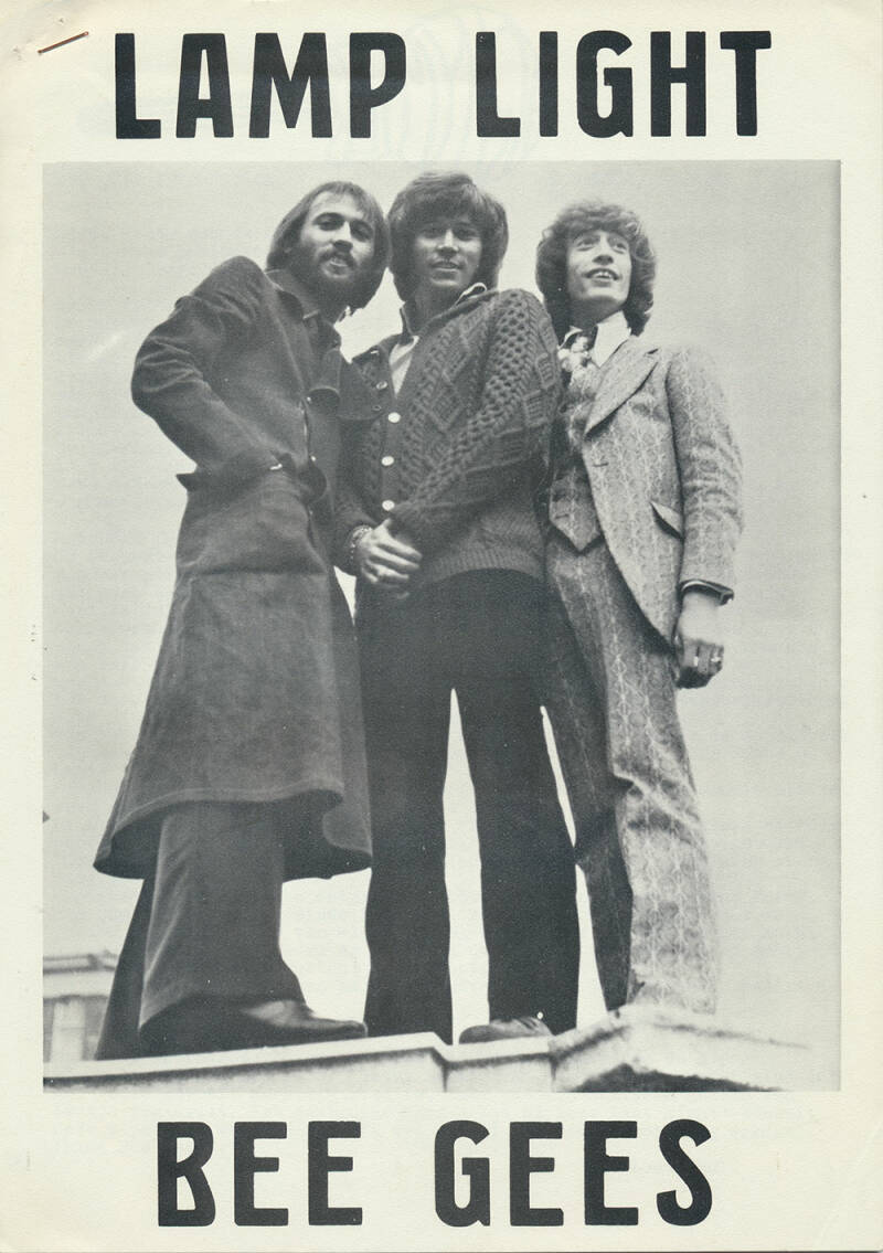 Bee Gees - Lamp Light issue 3 - November 1974 [Holland] - Magazine