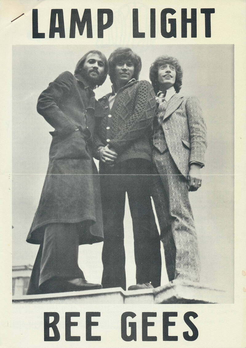 Bee Gees - Lamp Light issue 4 - April 1975 [Holland] - Magazine