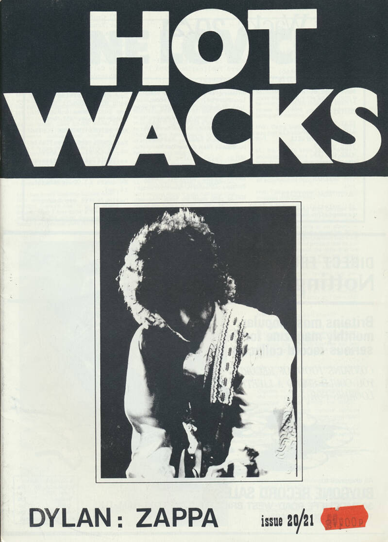Hot Wacks issue 20/21 - 1980 [UK] - Magazine