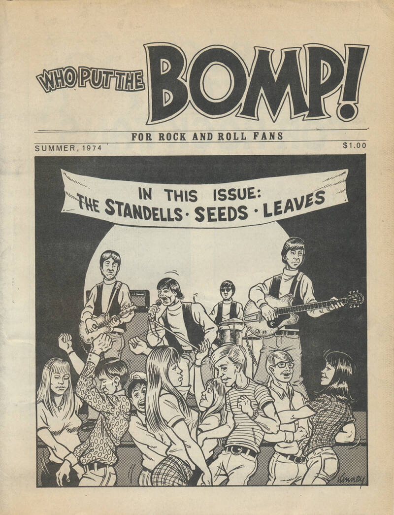 Who Put The Bomp issue 12 - Summer 1974 [USA] - Magazine