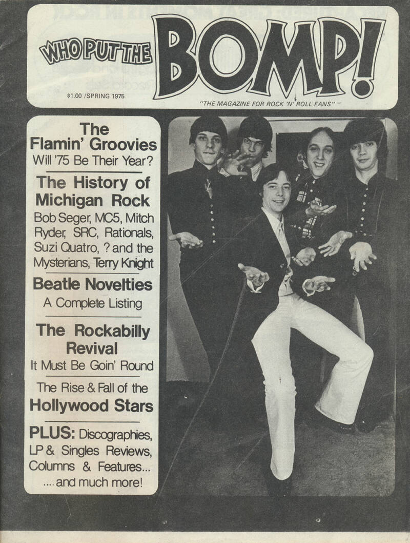 Who Put The Bomp issue 13 - Spring 1975 [USA] - Magazine