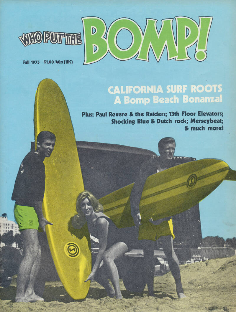 Who Put The Bomp issue 14 - Fall 1975 [USA] - Magazine