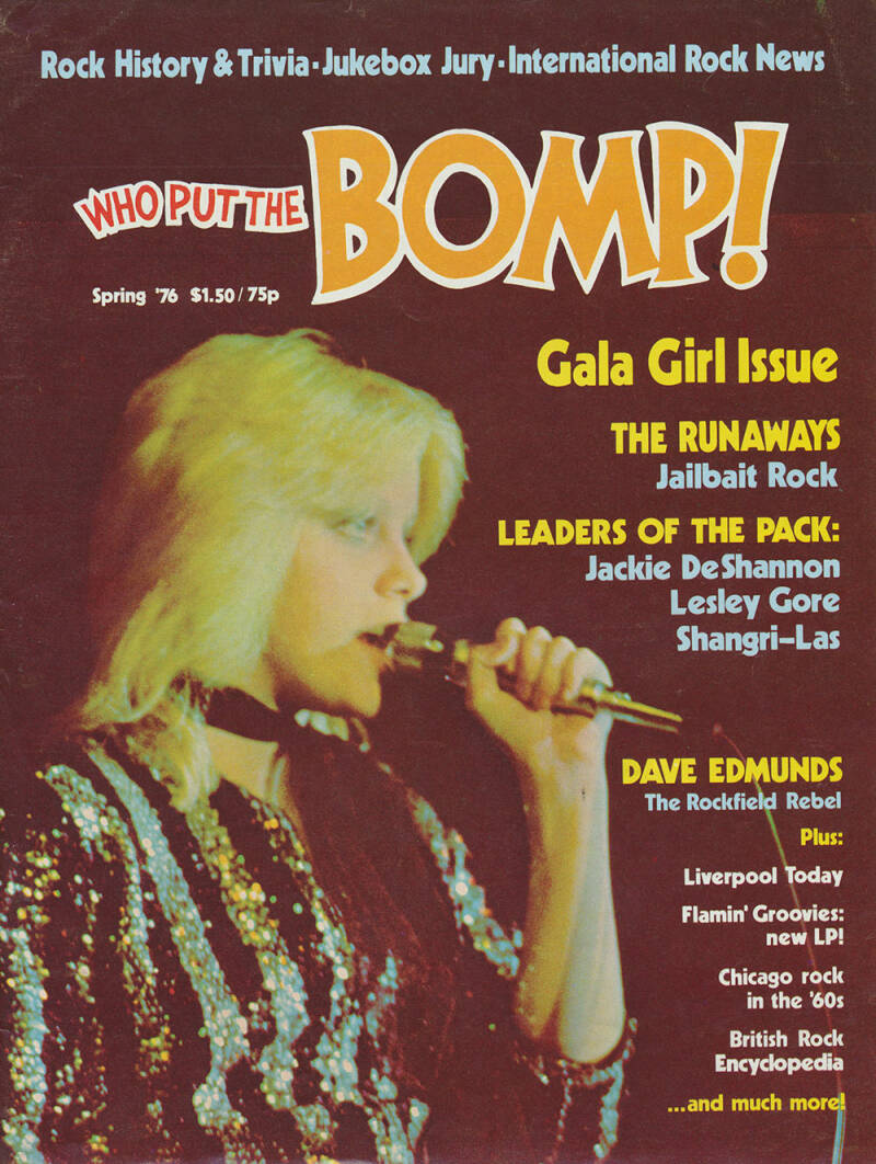 Who Put The Bomp issue 15