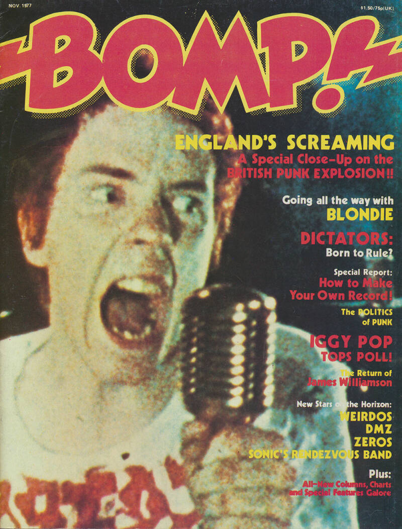 Bomp! issue 17 - October 1977 [USA] - Magazine