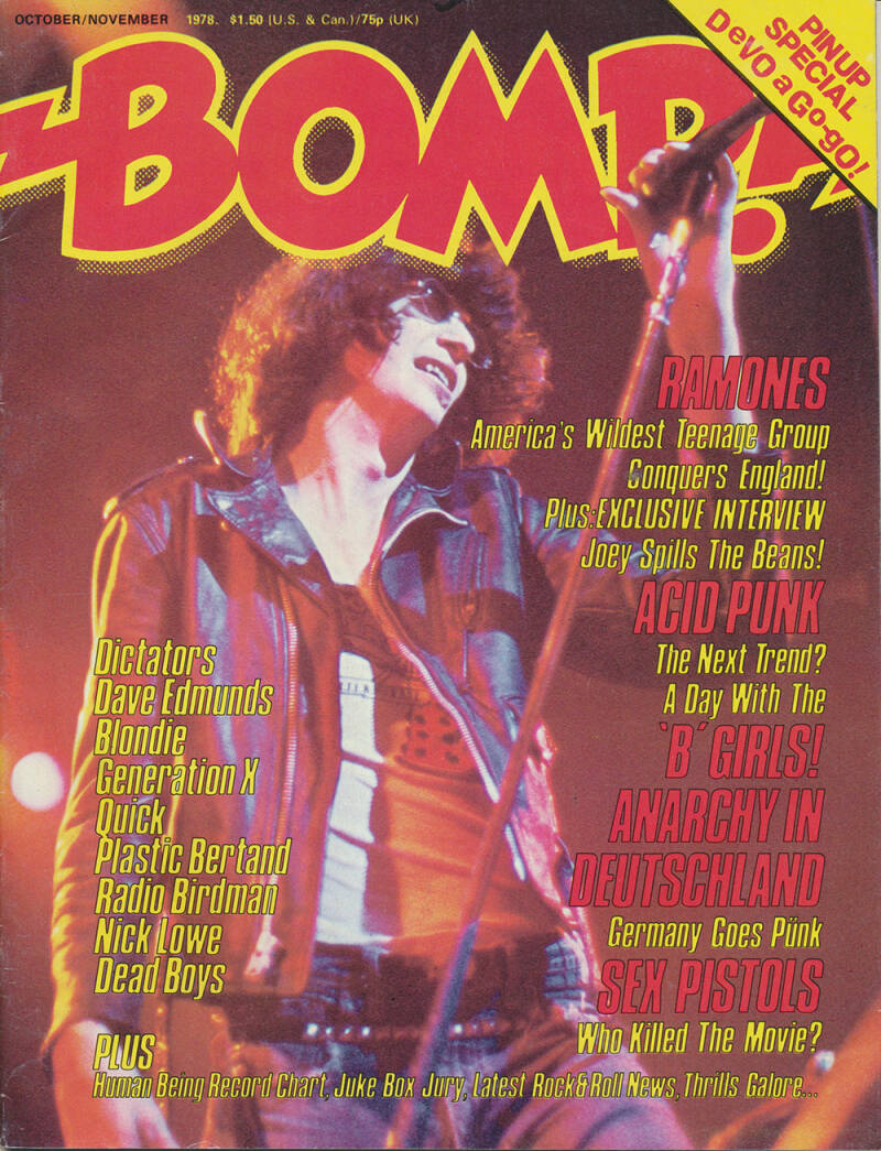 Bomp! issue 19 - October 1978 [USA] - Magazine