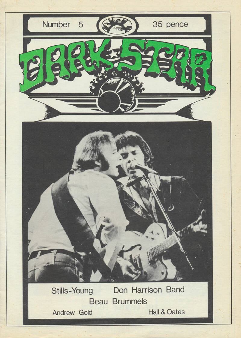 Dark Star issue 05 - October 1976 [USA] - Magazine