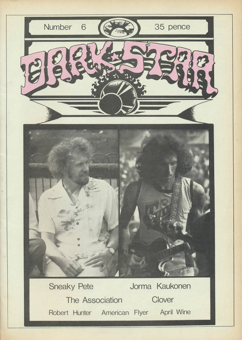 Dark Star issue 06 - December 1976 [USA] - Magazine