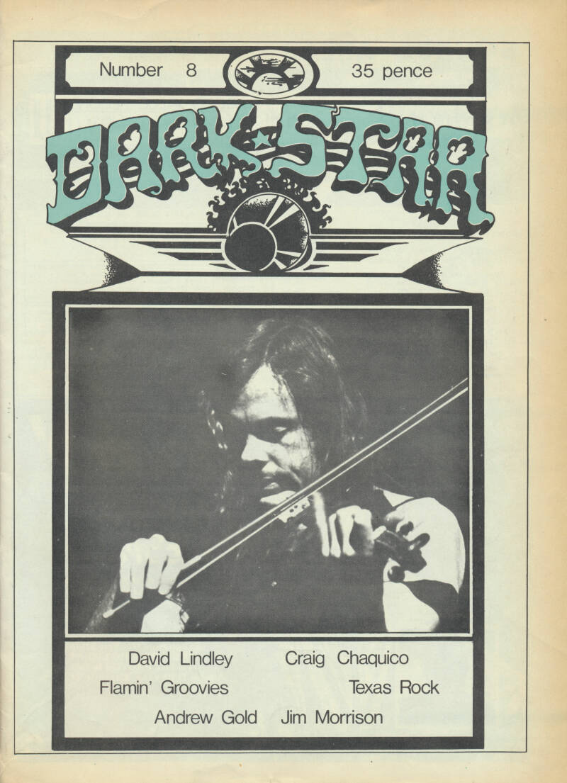 Dark Star issue 08 - April 1977 [USA] - Magazine