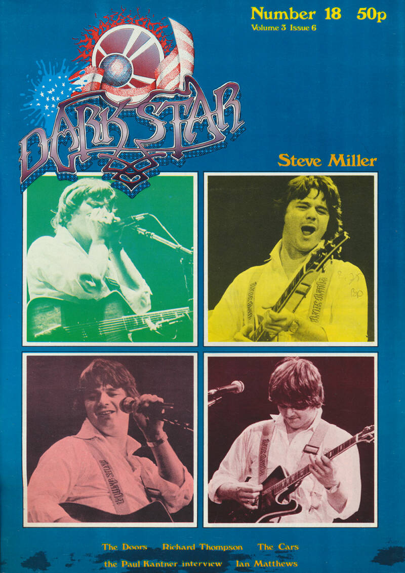 Dark Star issue 18 - December 1978 [USA] - Magazine