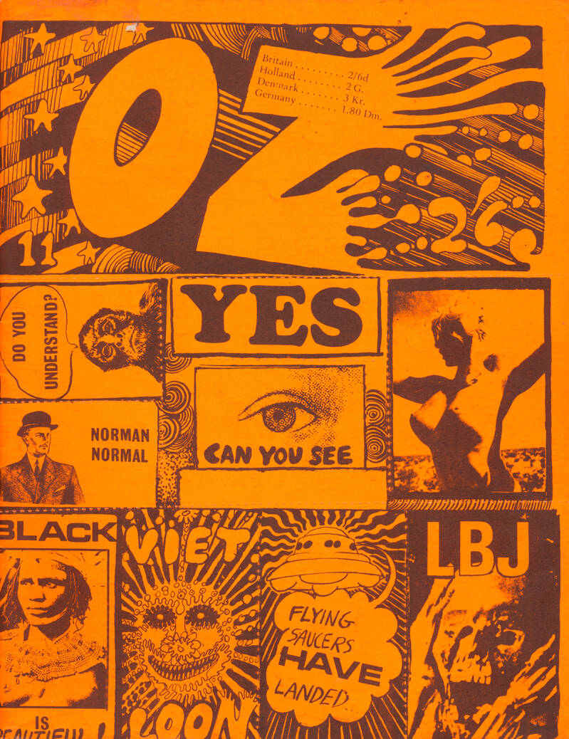 OZ issue 11 - March 1968 [UK] - Magazine