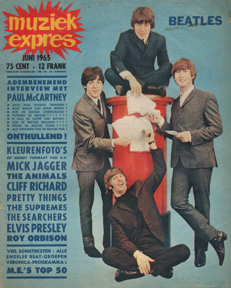 Muziek Expres issue 114 - June 1965 [Holland] - Magazine