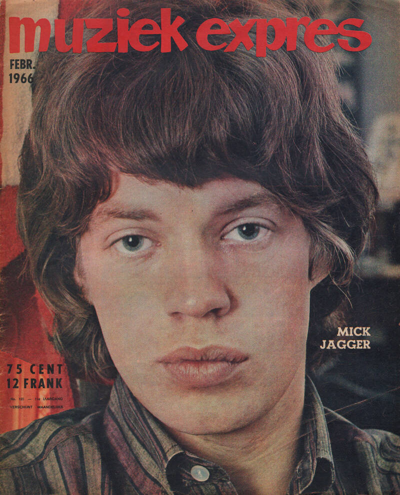 Muziek Expres issue 122 - February 1966 [Holland] - Magazine
