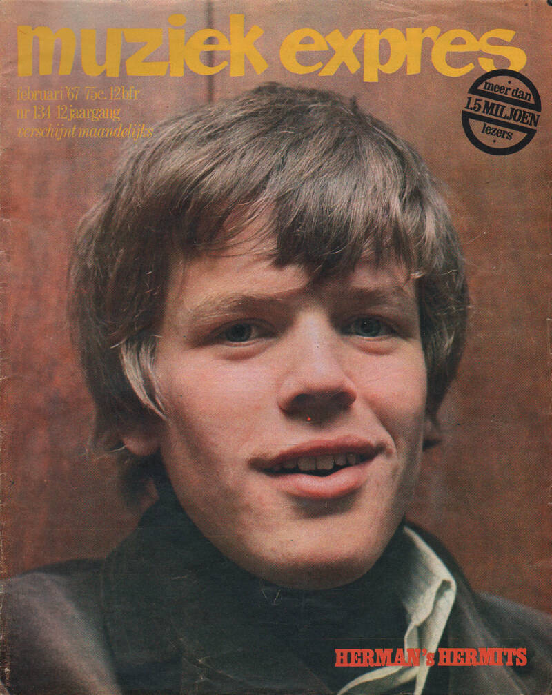 Muziek Expres issue 134 - February 1967 [Holland] - Magazine