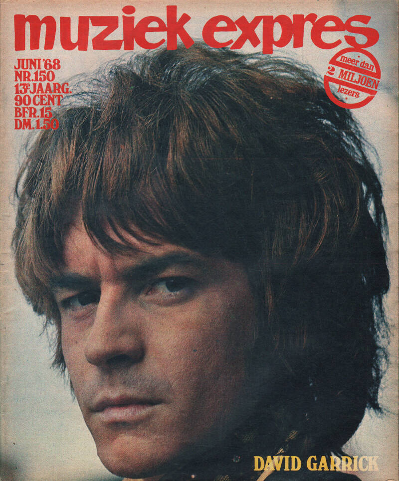 Muziek Expres issue 150 - June 1968 [Holland] - Magazine